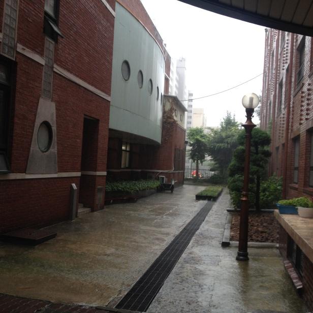 Torrential downpour.