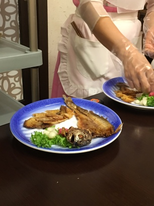 Gulbi gui, grilled smoked fish that was so moreish